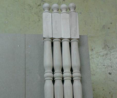Tournage de poteaux en bois Lumbres